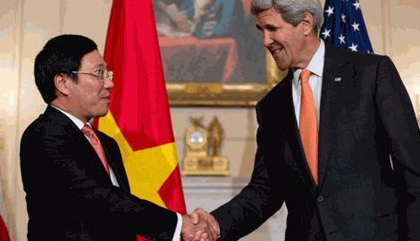 Из-за Вьетнамско-Китайского конфликта, США частично снимает эмбарго на поставки оружия Вьетнаму