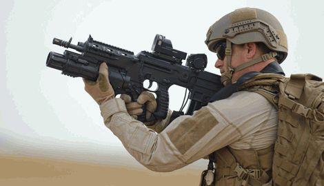 Украинское войско вооружат современными израильскими винтовками