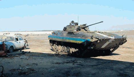 Аэропорт Донецка находится под контролем сил АТО, за минувшие сутки один защитник аэродрома погиб, – штаб АТО