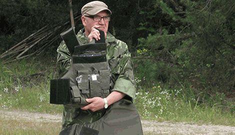 Заработок на смерти, из-за отсутствия пластины в бронежилете погиб офицер ВСУ