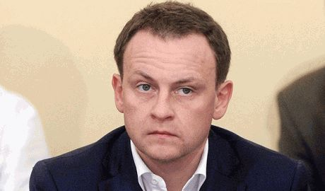 В российской Госдуме ночью ограбили банкомат ФОТО