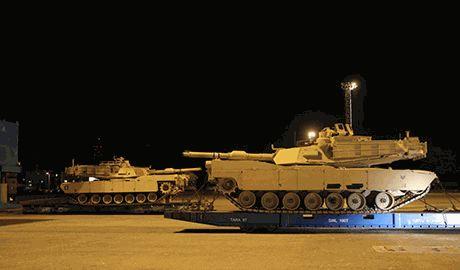 Бронетанковое подразделение США Ironhorse, разместилось в 150 км. от границы РФ