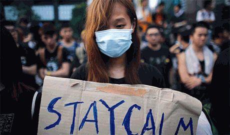 Глава Гонконга отказался уходить в отставку и пообещал разогнать местный Майдан