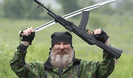 Очередное «зверство» российских карателей в форме бойцов ВСУ на Луганщине
