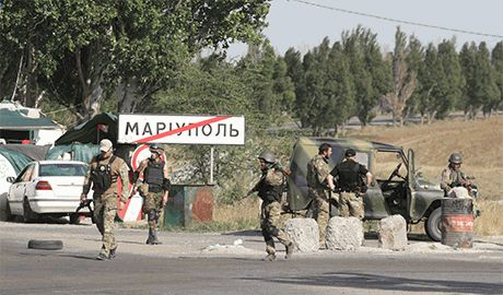 """""""Получив на орехи"""" от сил АТО, боевики отступили от Мариуполя обратно к Новоазовску"""