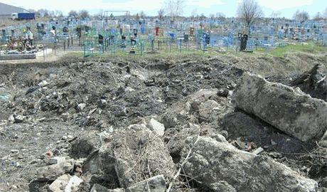На городском кладбище Ростова появились ряды свежих могил с датой смерти лето-осень 2014