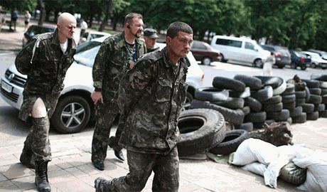 Запорожские и Бердянские «Самообороновцы» отлавливают сепаратистов и меняют на пленных товарищей