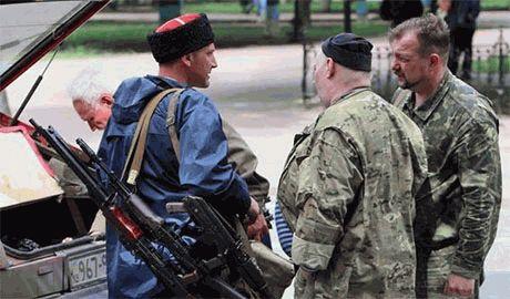 """На территории """"ЛНР"""" появилась «Казацкая народная республика»"""