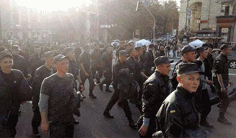 Підрозділи нацгвардії підняті по тривозі, та рушили на бахмут
