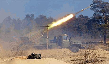 «Грады» боевиков бьют по Бахмутке со стороны Зимогорья, — очевидцы