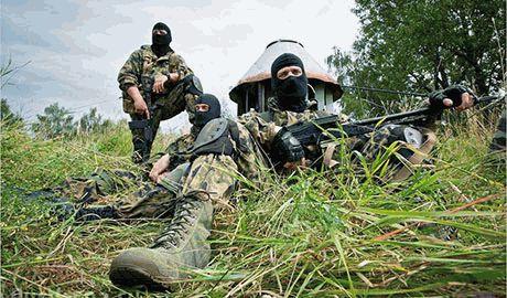 Случайно наткнувшись на группу террористов, разведчики ВСУ уничтожили около 20 боевиков