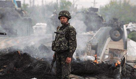 За прошлые сутки в зоне АТО погибли двое украинских военнослужащих