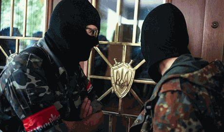 """Представители Правого сектора заблокировали """"Запорожсталь"""" – пресс-служба"""