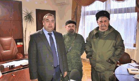 Ради похода на Киев бандформирования решили объединиться Видеозаявление