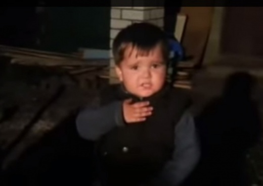 """Казаками не стают казаками рождаются. 2-х летный мальчик поет """"Ще не вмерла Украина""""! (ВИДЕО)"""