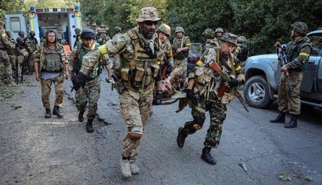 Цена Иловайского котла – 400 убитых военнослужащих