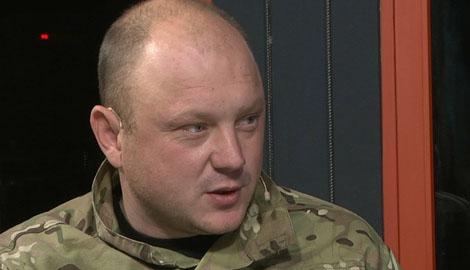 Комбат Черный: Правый сектор покидает Донецкий аэропорт