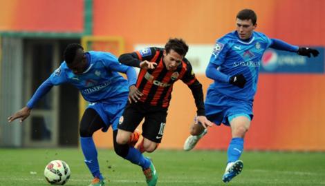 Дерби Донецких футбольных клубов закончилось дракой