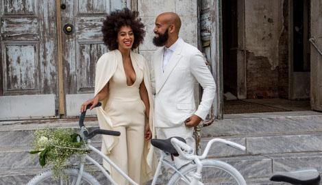R&B певица Бейонсе во второй раз отдала сестру замуж