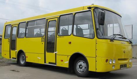 В Луцке на базе автобуса «Богдан» собрали первый украинский электромобиль