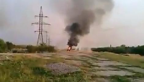 """Как украинские казаки уничтожили боевую машину """"Сепадрастов"""""""
