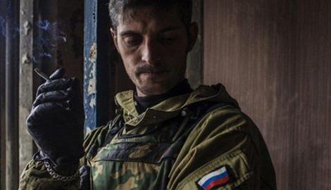 Разрекламированного российскими СМИ террориста Гиви посадили за решетку