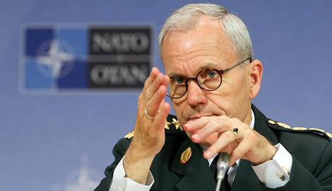 Делегация НАТО, во главе с генералом Кнудом Бартелсом, прибыла в Киев