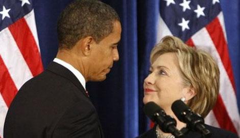 Барак Обама желает видеть Хиллари Клинтон на посту президента США