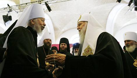 О блокировании объединения церквей и наследнике усопшего Владимира