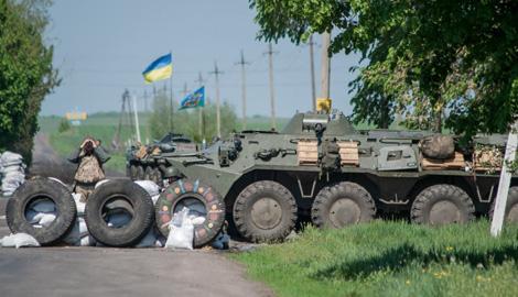 В результате неудачного штурма украинского блокпоста террористы понесли потери, – пресс-центр АТО