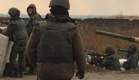 Террористы поставили ультиматум бойцам 31-го блокпоста, и получили ответ украинской артиллерии