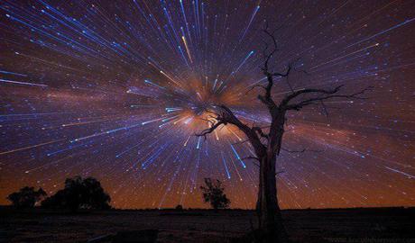 Метеоритиний дождь Ориониды (видео)