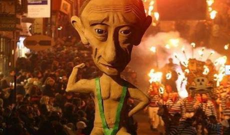 "В Лондоне сожгли ""Путина"""