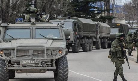 Очередная путинская колона вторглась в Украину