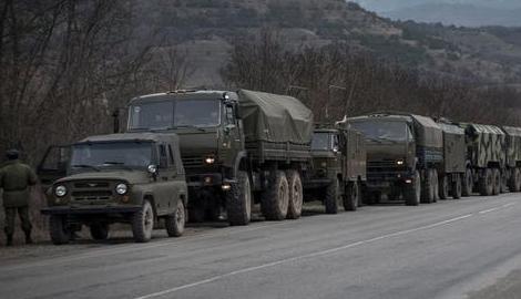 Колонны военной техники оккупантов замечены на окраине Донецка