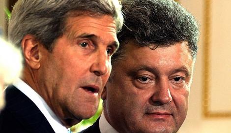 Порошенко желает продолжать переговоры с РФ в Женевском формате