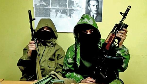 """Боевики """"Львовской народной республики"""" записали видеообращение"""