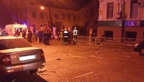 В Харькове неизвестными осуществлен террористический акт, в результате которого  пострадало восемь человек