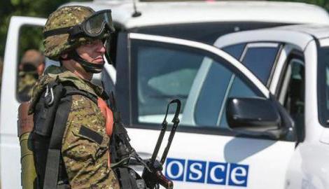 Миссия ОБСЕ во второй раз за два дня зафиксировала  перемещение неизвестной военной техники в западном направлении