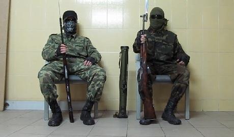 """Вооруженные партизаны """"ДНР"""" записали видеообращение к Коломойскому и днепропетровчанам"""