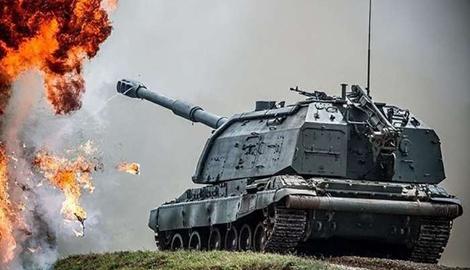 Четыре танка, два БТР и две сотни оккупантов уничтожила украинская артиллерия возле Донецка, – Роман Доник