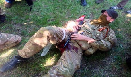 Жесткое «мочилово» в ЛНР. Террористы уничтожают засланных российских «казачков»