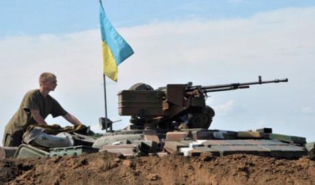 Киборги разбили блокпост врага и захватили  БРДМ окупантов