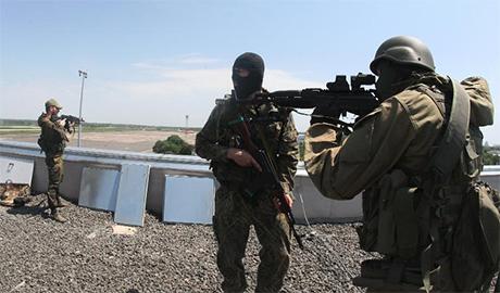 В районе Донецкого аэропорта украинские «киборги» сыграли с боевиками в «занимательную» игру: руки-ноги-голова или «собери террориста по частям»