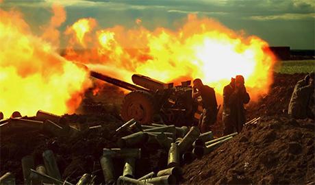 Боевики продолжают обстреливать украинских военных в близи Мариуполя