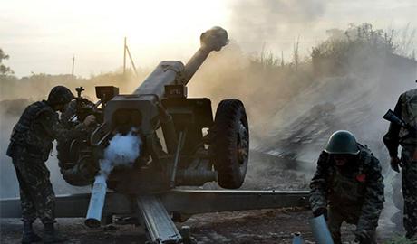 Украинские артиллеристы сорвали атаку боевиков на Дзержинск и нанесли врагу большие потери