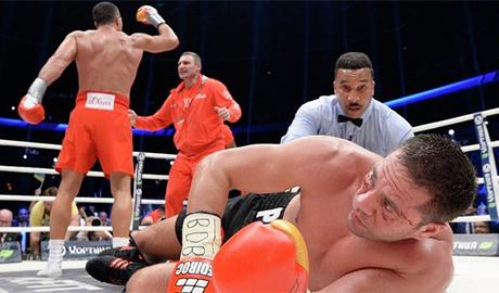После боя с Владимиром Кличко болгарский боксер Пулев оказался на больничной койке