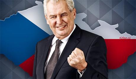 В эфире «Первого» телеканала РФ, президент Чехии «похоронил» Украину