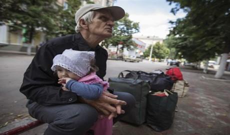 В Украине официальное число беженцев взросло до полмиллиона