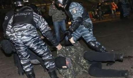 390 «беркутовцев» приняли участие в зачистке Майдана 30 ноября 2013